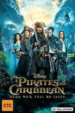 Pirates Of The Caribbean 5 Dead Men Tell No Tales Blu-ray BRAND NEW SEALED R4
