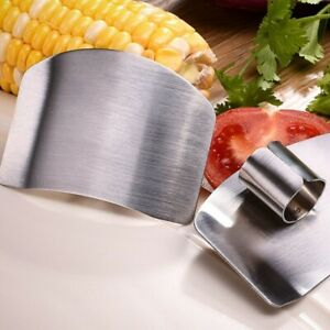 Vegetable Cutting Finger Hand Safe Steel Stainless Kitchen Guard Protection Tool