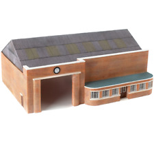 More details for bachmann e99660 00 gauge 1/76th  bus garage + *free efe bus included* - t48 post