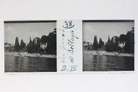 Bellagio San Giovanni Italia Foto Stereo T2L9n45 Placca Da Lente Vintage