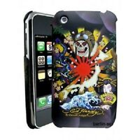 Original ED HARDY Schutzhülle Folie Tasche Cover Hülle Case Apple iPhone 3g 3GS