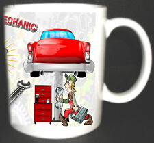 THE WORLDS BEST MECHANIC MUG CAR LORRY GARAGE MOT LIMITED EDITION. TOP GIFT
