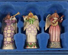 JIM SHORE ANGEL ORNAMENTS IN DECORATIVE BOX
