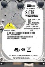 WD20NMVW-11W68S0 DCM: HHCVJBBB WX91A Western Digital 2TB