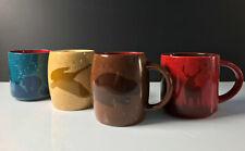 4 Tim Hortons Limited Coffee Mugs 2 No. 016 2 No. 017 Bear Elk Beaver Goose
