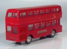 "Plastic 7"" Leyland Atlantean Bus London Transport Scale Model Friction Toy"