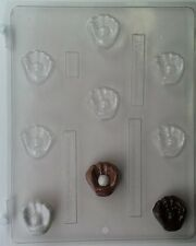 BASEBALL GLOVE AND BALL BITE SIZE CHOCOLATE CANDY MOLD MOLDS DIY CUPCAKE TOPPERS