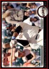 2010 Bowman Baseball #162 Pablo Sandoval San Francisco Giants