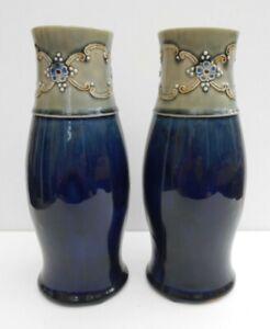 Royal Doulton Lambeth Vases - Ethel Beard - Art Nouveau - 1902 / 1922