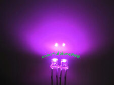 1000pcs, 3mm Pink Flat Top Led Wide Angle Water Clear Light Bright Leds Lamp New