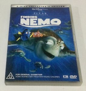 Finding Nemo DVD 2 Disc Set Collectors Edition