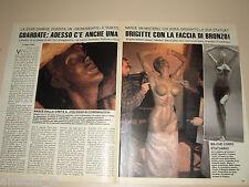 BRIGITTE NIELSEN GIOVANNI LUCIANO FUNARI clipping fotografi photo 1988 AS61
