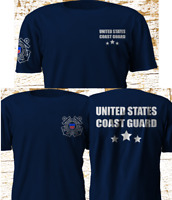 United States Coast Guard USCG Maritime Military Forces Army Navy T-Shirt S-4XL