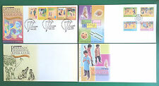SERIES 1 & 2 CHILDREN'S TRADITIONAL GAMES FDC & PRESENTATION PACK SET YEAR 2000
