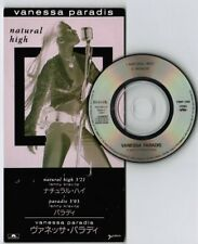 "VANESSA PARADIS Natural High LENNY KRAVITZ JAPAN 3"" CD PODP-1088 Unsnapped FreeS"