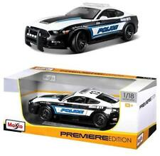 2015 FORD Mustang GT Polizei 1:18 Police Premiere Edition Diecast Modell
