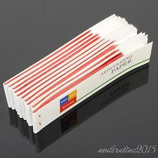 10 Books Dental Articulating Paper Red Thin Strips Red Dental Equipment Supply