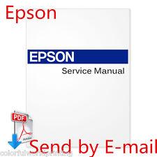 EPSON Stylus Pro 10000 /10000CF /10600 Large Format Printers PDF Service Manual