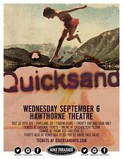 Quicksand 2017 Portland Concert Tour Poster - Post-hardcore Music