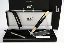MONTBLANC Boheme - Doue' B.P. W/GOLD & Dimpled BLACK Resin #33605  NEW & RARE!