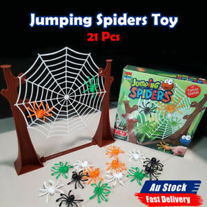 21pcs Jumping Spider Game Funny Board Game Toys Family Interactive Game Toy NEW
