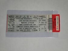 "Maroon 5 & Train Concert Ticket Stub-2011-""Moves Like Jagger""-Mansfield,Ma"