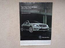 Mercedes-Benz C-Class Coupe AMG Sport -  Advertisement  - 2012