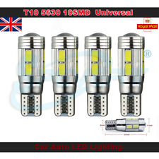 4pcs T10 168 194 W5W 501 Xenon High Power Canbus10SMD LED Car Side Light BulbS