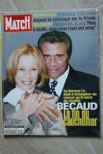 Paris match N°2583 Gilbert Becaud Ronaldo Claude Lelouch Adriana Karembeu 1998