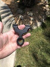 """LITTLE RINGER""  BLACK High Density Polymer hunting slingshot."