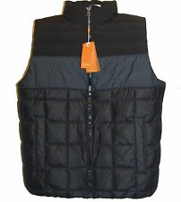 Hugo Boss Black Gray Men's Duck Down Vest Size US 44 R EU 54 NEW