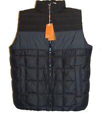 Hugo Boss Black Gray Men's Duck Down Vest Size US 44 R EU 54 NEW