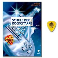 Schule der Rockgitarre 1 - Gitarrenschule - CD, Dunlop Plektrum - 9783940297860