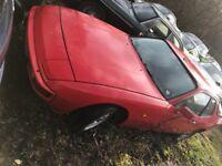 Porsche 924 1981 manual coupe project non runner Plus donor car