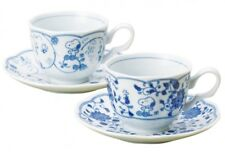 Snoopy Peanuts Coffee Tea Cup & Saucer Pair Set Grapes Mug JAPAN Free Shipping