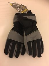 Men Fashion Insulated Waterproof Gloves 3M Thinsulate Lining Winter sports S/M