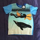 Genuine Licenced Boys Girls Kids Looney Tunes Daffy Duck Character T-Shirt Tee