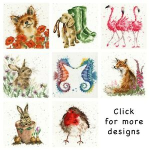 Bothy Threads ~ Counted Cross Stitch Kits ~ Hannah Dale ~ Animals ~ Wrendale