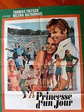 Affiche de cinéma Princesse d'un jour 1968