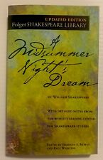 Folger Shakespeare Library: A Midsummer Night's Dream by William Shakespeare (2004, Mass Market)