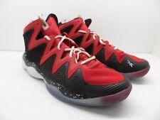 Reebok Men s Kamikaze IV M40834 Mid Retro Basketball Shoe Red Black Size 13M 2474be769