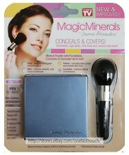 JEROME ALEXANDER* 2pc Set MAGIC MINERALS Powder Conceal COMPACT+BRUSH+SPONGE New
