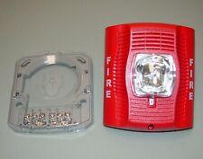 System Sensor Spsr Wall Speaker Strobe Red 21hn39