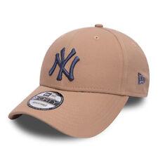 NEW ERA MENS 9FORTY BASEBALL CAP.GENUINE NEW YORK YANKEES BROWN ADJUSTABLE HAT 2