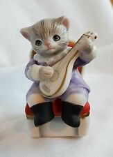 """New Listing""""Rare"""" Schmid Kitty Cucumber 1994 Baby Pickles """"The Little Virtuoso"""" Figurine"""