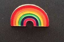 Rainbow Cactus Tropical Enamel Pin