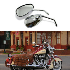 MOTORCYCLE REAR VIEW SIDE MIRRORS CHROME 10MM FOR HONDA SHADOW 750 VT1100C 800C