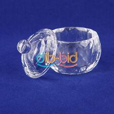 Nail Art Glass Crystal Cup Dappen Dish Arcylic Liquid Powder Container OC