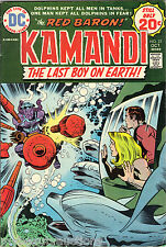DC Comics Kamandi The Last Boy On Earth. Vol. 3. # 22. From October 1974. Fine +