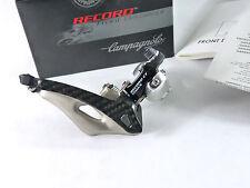 Campagnolo Record Compact Front Derailleur Titanium & Carbon 32mm CT Bicycle NOS